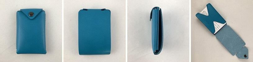abrAsus薄いカードケースのデザイン