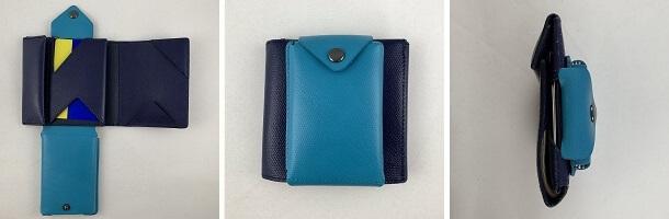abrAsus薄いカードケースのデザイン(薄い財布に装着)