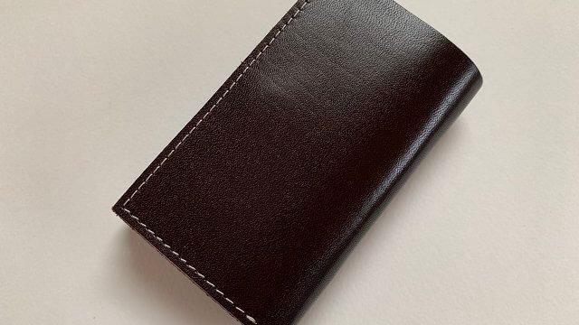 本革はぎれミニ財布